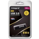 Integral USB 3.0 memory pen 128GB zwart
