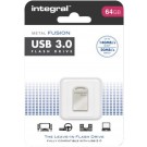 Integral USB 3.0 memory pen 64Gb mini Metal Fusion
