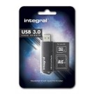 Integral kaartlezer dual slot SD/micro SD > USB 3.0