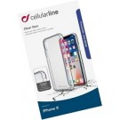 Cellular Line Apple backcover Clear Duo transparant  iPhoneX