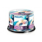 Philips DVD-R 4,7GB 16xspeed spindle 50 stuks
