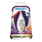 Philips LED lamp E14 4Watt kaars helder dimbaar