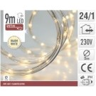 8719202287738 Lichtslang 9meter 24 LED warm wit