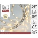 8719202287745 Lichtslang 12meter 24 LED warm wit