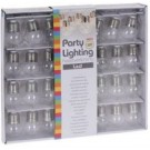 8719202957273 Feestverlichting LED op batterijen 30 lampen kogel helder warm wit
